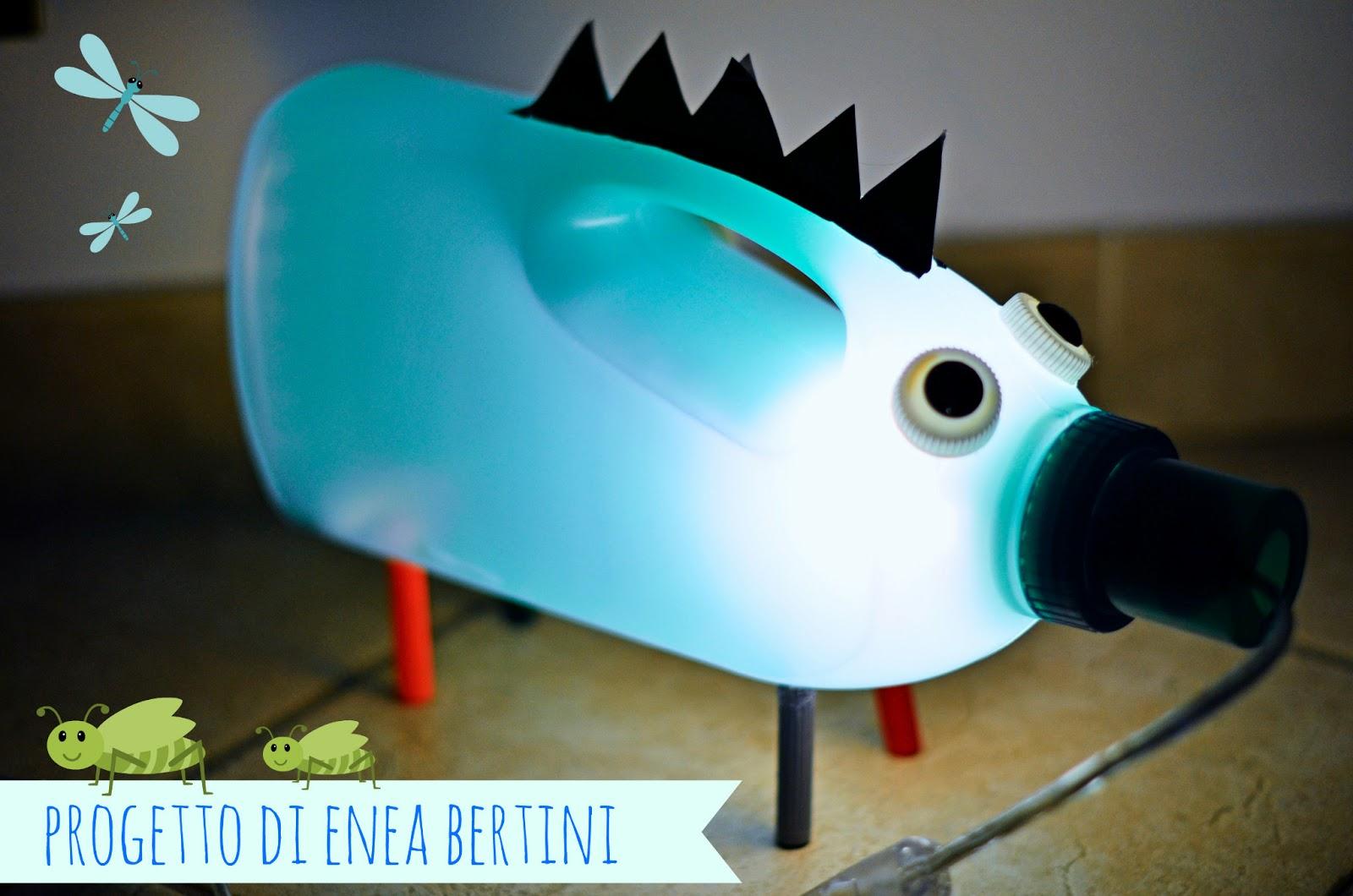Lampada Fai Da Te Con Bottiglia: Idee per riciclare le vecchie ...