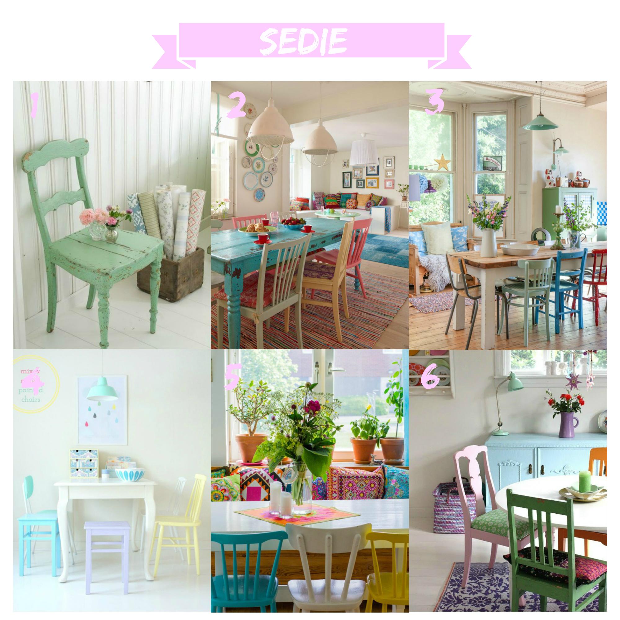 Tavolo Con Sedie Colorate.Tavolo Tondo O Quadrato Refresh My Living Mostracci