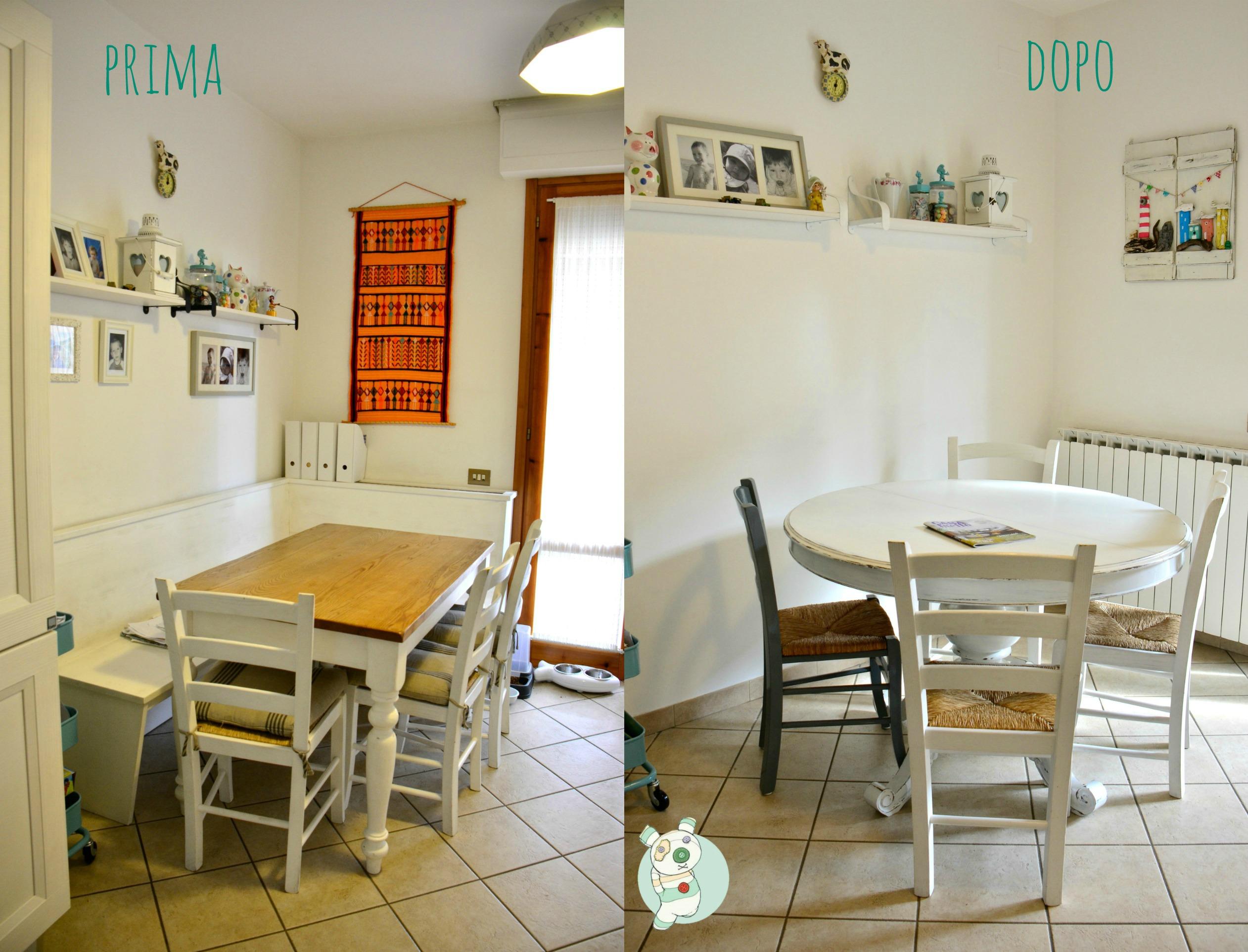 Il tavolo rotondo mostracci - Tavolo rotondo da cucina ...